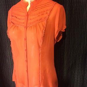 efa7e930612 Twenty one Tops - Ladies orange blouse